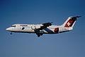 103ap - Crossair Avro RJ 100; HB-IXN@ZRH;11.08.2000 (5067195836).jpg
