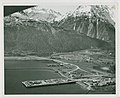 11-65. Seward - ARR dock and boat harbor. New Waterfront - A new boat harbor and an Ocean dock have been built at Seward, Alaska under Army Engineer Supervision replacing facilities - DPLA - 6f9952062b030fa2a688d7b0ae56edb9.jpg
