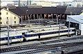 110L31231083 Bereich Wirtschaftsuniversität, Franz Josefs Bahnhof, Blick auf Rundlokschuppen, Lok 4030.jpg