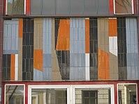 1170 Neuwaldeggerstraße 3-5 Stg 2 - Mosaik Ornamentale Darstellung II von Fritz Riedl 1967 IMG 5136.jpg