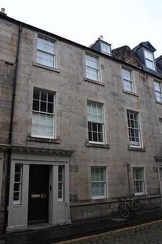 James Stirling (1800–1876) - 11 Hill Street, Edinburgh