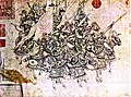12th Century Chinese painting of Song Dynasty (960 -1279) heavy cavalry. Notice that the horses are also heavily armoured.jpg