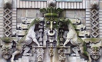 Herman Lee Meader - Image: 130 East 25th Street ornamentation over entrance