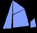 131px-Sail plan yawl.png
