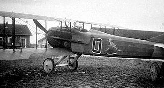 13th Bomb Squadron - 13th Aero Squadron - SPAD XIII, Souilly Aerodrome, France. 1918