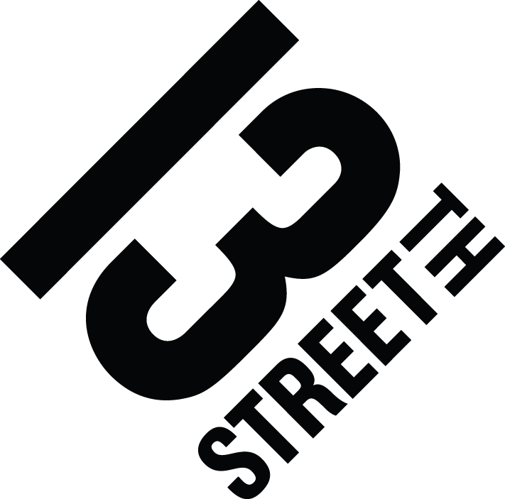 13th street logo uk master rgb black