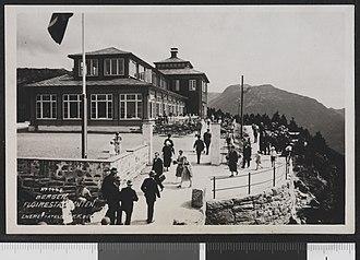 Fløyen - Image: 1448 Bergen. Fløirestauranten no nb digifoto 20160201 00030 bldsa PK19997B