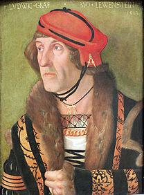 baldung, baldung grien, ludwig, count, löwenstein, 1513, portrait, face, heavy