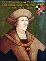1525 Schäufelein Eitelfriedrich II. Graf zu Zollern Jagdschloss Grunewald anagoria.jpg