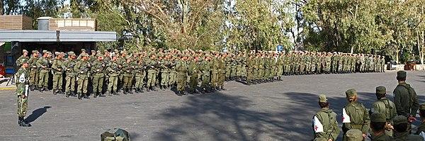 Resultado de imagen para Las Fuerzas Armadas pueden brindar esenciales servicios de apoyo en el combate contra el crimen organizado