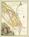 1728 map of the Western Caspian Sea region by Joseph Nicholas de L'Isle.jpg