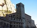 179 Monestir de Montserrat, la basílica des de la plaça de la Creu.JPG