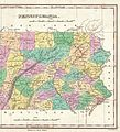 1827 Finley Map of Eastern Pennsylvania - Geographicus - Pennsylvania-finley-1827.jpg
