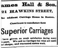 1873 Hall HawkinsSt BostonDirectory.png
