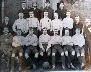 1891–92 Sheffield United F.C. season - Image: 1891 92 Sheffield United F.C. team