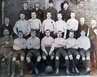 1891–92 Sheffield United F.C. season - Image: 1891 92 Sheffield United F.C. team