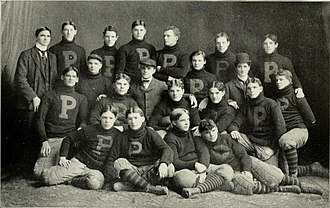 1899 Purdue Boilermakers football team - Image: 1899 Purdue football team