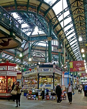 Leeds Kirkgate Market - The 1904 hall