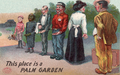 1908 postcard of tip-seeking workers.png