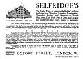 19090313 Selfridge's Gala Week of Opening - The Times (London) p4.jpg