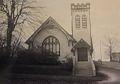 1912 FIRST PREBYTERIAN CHURCH NASHVILLE ARKANSAS photo from 1952.jpg