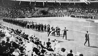 Germany at the 1912 Summer Olympics - The team of Germany at the opening ceremony.