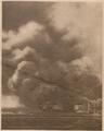 1916.12.31 Le Miroir - Reyervor petrolier din portul Constanta incendiat de un proiectil german.png
