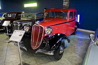 Chenard-Walcker - 1933 Chenard et Walcker T9T (front-wheel drive)