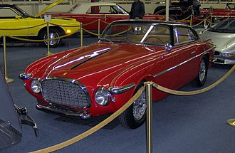Ferrari 212 Inter - Vignale's 212 show car from 1952