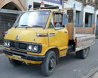 Daihatsu Delta - Image: 1971 Daihatsu Delta (DV26) 2000 cab chassis (2009 08 29)