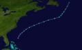 1974 Atlantic subtropical storm 2 track.png