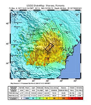 1977 Vrancea earthquake - Image: 1977 Vrancea earthquake