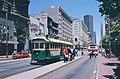 1983 SF Historic Trolley Festival - Melbourne 648 loading on Market east of Powell.jpg
