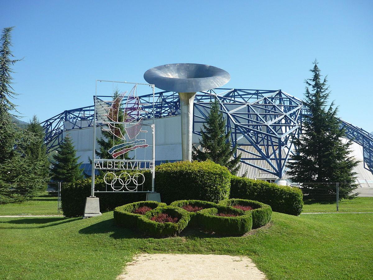 Exterior: La Halle De Glace Olympique