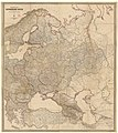 19th century map of the Russian Empire and adjacent countriesː Turkey, Persia, Siberia, Turkestan and Afghanistan.jpg