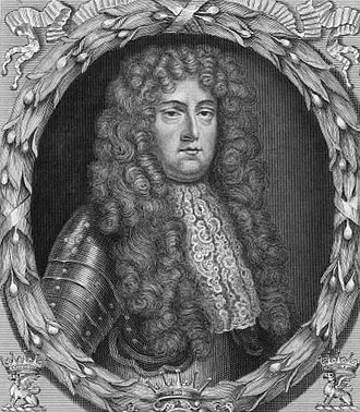 Robert Paston, 1st Earl of Yarmouth - The Earl of Yarmouth, by Burnet Reading