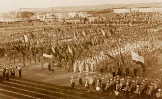 1932 Maccabiah Games - Opening ceremony