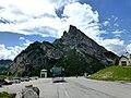2,477m Sass de Stria 2,105m Passo Falzarego Italy - panoramio.jpg