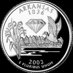 Economy of Arkansas - State quarter