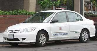 Honda Civic GX - Image: 2004 2005 Honda Civic NGV