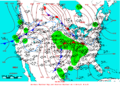 2005-02-13 Surface Weather Map NOAA.png