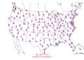 2006-04-26 Max-min Temperature Map NOAA.png