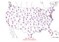 2006-05-09 Max-min Temperature Map NOAA.png
