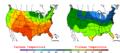 2006-05-22 Color Max-min Temperature Map NOAA.png