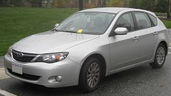 2008 Impreza 2.5i hatchback (US)