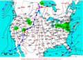 2009-04-15 Surface Weather Map NOAA.png