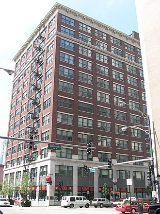 """William D. Boyce - """"The Boyce Building"""" at 500–510 North Dearborn Street, Chicago"""