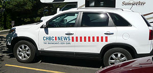CHBC-DT - A CHBC News vehicle