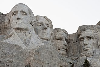 South Dakota - Mount Rushmore in the Black Hills