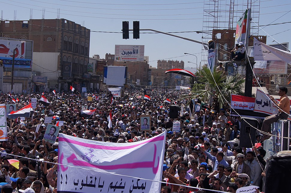 2011%E2%80%932012 Yemeni revolution (from Al Jazeera) - 20110301-04